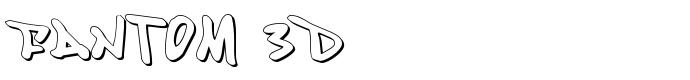 шрифт Fantom 0D