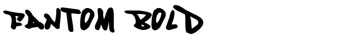 шрифт Fantom Bold