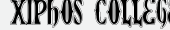 шрифт Xiphos College