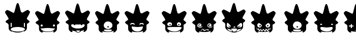 шрифт Ghost & Punk Smileys