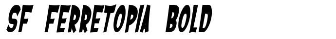 шрифт SF Ferretopia Bold