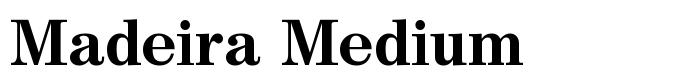 шрифт Madeira Medium