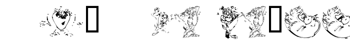 шрифт Taz the Devil