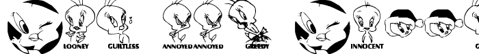 шрифт Totally Tweetie