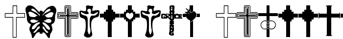 шрифт Christian Crosses