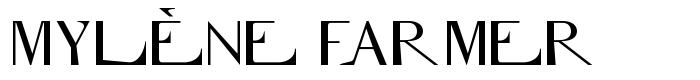 Вы можете скачать шрифт mylène farmer